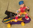 Vtg 1987 RC RADSKATE Skateboarder Dude by Matchbox WORKS tested Super Rare