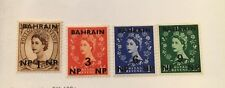 Bahrain Scott 104-114 QEII Definitive Series Set-Mint