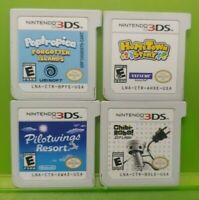 Hometown Story Chibi Robo Pilot Wings Poptrop Nintendo DS Lite 3DS 2DS Game Lot