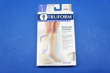 Truform 8865WH-XL X-Large size Compression Stocking Soft Top Closed Toe 20-30 mm
