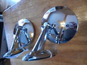 FORD MAVERICK 1970 - 1979 PAIR CHROME DOOR MIRRORS