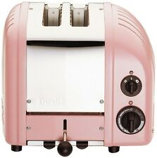 Petal Pink Toaster, 2-Slice Xtra-Wide Slots Commercial Grade Insulated Stainless