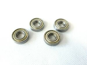 (4 PCS) 6900Z 10 x 22 x 6mm Metal Shielded Sealed Deep Groove Ball Bearings