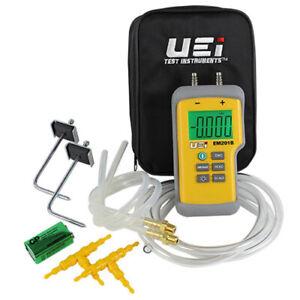 UEi EM201SPKIT Digital Electronic Manometer Static Pressure Kit