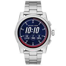 Nuevo y en caja de plata de acceso Michael Kors Android Wear Medium Correa Grayson Reloj inteligente