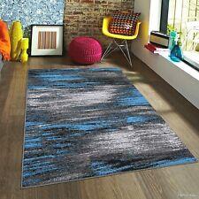 Rugs Area Rugs Carpets 8x10 Rug Modern Large Floor Bedroom Blue 5x7 Gray Rugs ~