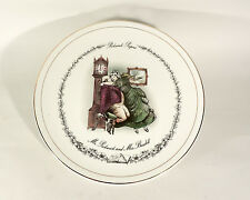 """Decorative Plaque """"PICKWICK Papers, M. Pickwick et Mme Bardell"""""""