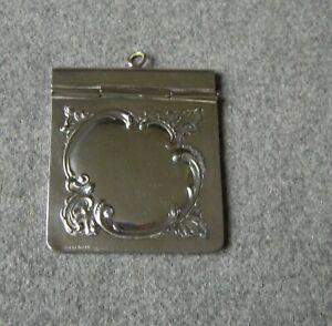 Antique Dance Card Cover - Carnet de Bal - Art Nouveau