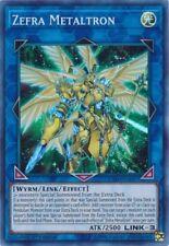 Zefra Metaltron (EXFO-EN097) - Super Rare - 1st Edition
