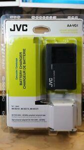 JVC AA-VG1 Battery Charger for BN-VG107, BN-VG114, BN-VG121