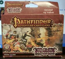 Pathfinder Adventure Card Game - Wrath of the Righteous Adventure Packs 2,3,5,6