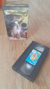 Vintage Lord Of The Rings Animated Movie VHS Video Cassette *read description*