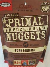 Primal Pet Foods Freeze-Dried Nuggets Dog Food Pork 5.5 oz