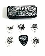 Dunlop James Hetfield (Metallica) Pick Tin 6 Picks With Dirty Donny Art .88mm