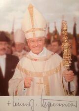 Bishop Heinz Josef Algermissen - Autogramm, Autograph
