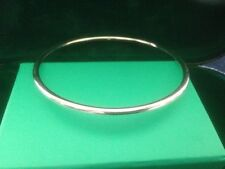 silver round bangle all handmade 6.5cm new for 2016 stunning with free gift bag