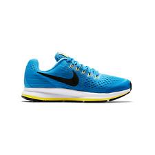 Nike Zoom Pegasus 34 Size 6Y / 7.5 Women's - Blue Black Running Shoes 881954-401
