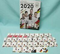 Rewe DFB EM 2020 Komplett Set alle 35 Sammelkarten + Sammelalbum Karten