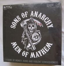 New Sons of Anarchy Men of Mayhem Board Game Money Guns Violence Consequences