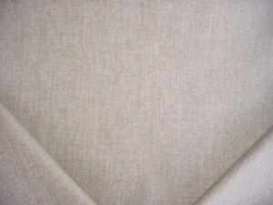 11-3/8Y KRAVET SMART 34730 BARLEY SILVER STRIE PLAINS CHENILLE UPHOLSTERY FABRIC