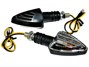 2x Mini Indicators Universal Halogen Motorcycle Scooter Quad Ece Id E Approved
