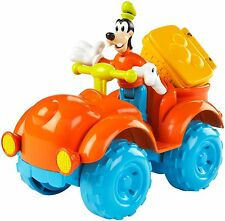 DISNEY MICKEY MOUSE CLUBHOUSE GOOFY OUTDOOR CRUISER W/ BOUNCING PICNIC BASKET