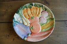 Vintage 1986 Fitz Floyd Vegetable Plate