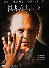 HEARTS IN ATLANTIS DVD R1 Anthony Hopkins