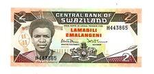 SWAZILAND .... P-13A .... 2  Emalansgeni .... ND(1987) ..... *UNC*