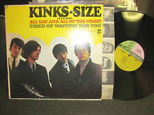 the Kinks kinks-size size '65 orig LP MONO r6158 tri-tone steamboat rare w/inr!!