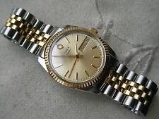 1978 NEW OLD STOCK, SUPERB RAREST TIMEX PRESIDENT, QUARTZ, GOLD/ SS, SERVICED!