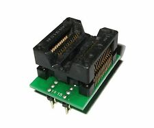 Soic28 a Dip28 Adaptador | apoya la mayoría de programadores | adp-028 | Soic20 | Soic16