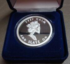 RARE 1 OZ SBSS Silver Shield 2013 SLAVE QUEEN  PROOF W/ COA & Blue Box