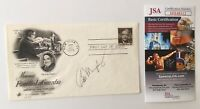 Bob Murphy Signed Autographed First Day Cover JSA Certified Mets Announcer HOF
