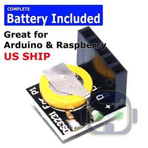 DS3231 Real Time Clock RTC Module for Raspberry Pi Arduino 3.3V/5V Battery