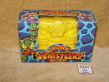 HOLY GRAIL MIMP MONSTERS IN MY POCKET WRESTLERS SOAP BOXED YELLOW V RARE 1990s