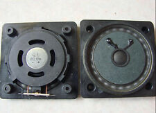 "2pcs 3"" inch 78MM 8Ω flat panel Speaker Woofer Subwoofer Neodymium 10W 8Ohms"