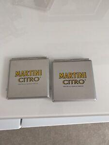 New X2 Martini Citro Logo Double Compact Mirrors