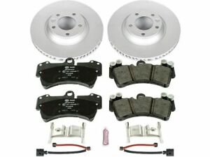 For 2007-2015 Audi Q7 Brake Pad and Rotor Kit Front Power Stop 73674ZS 2008 2009