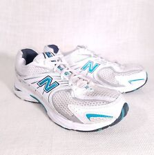 New Balance 441 Women White Blue Running Shoes Size 9.5 B