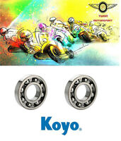 Genuine Koyo Yamaha YZ250 Crank Main Bearings X2 Motocross Moto-X