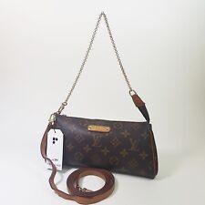 Authentic Louis Vuitton Eva Clutch Monogram M95567 Shoulder Mini Clutch LC374