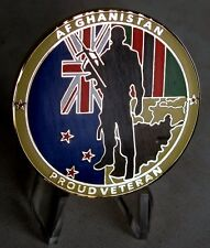 New Zealand Armed Forces / Afghanistan Collector Military Challenge Coin