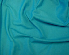 Turquoise Canvas Fabric Medium Weight 100%Cotton 150cm Wide Sold Per Metre