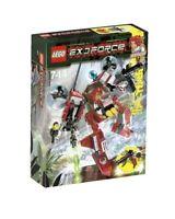 LEGO Exo Force 8111 River Dragon Mech Roboter Ha-Ya-To Set Neu Ovp MISB