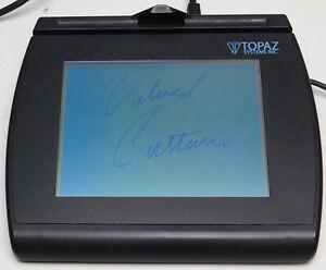 Topaz T-LBK766SE-BHSB-R Large Backlit LCD Signature Pad + Stylus