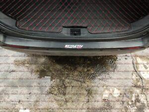 For Mazda CX5 Accessories Carbon Fiber Rear Bumper Protector Guard Cover 2020