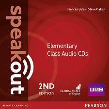 Pearson SPEAKOUT 2nd EDITION Elementary Class Audio CDs @NEW@