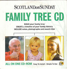 151 PROMO CD  Family Tree CD - Scotland On Sunday