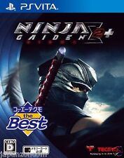 Used PS Vita NINJA GAIDEN SIGMA 2 PLUS SONY PLAYSTATION JAPANESE IMPORT